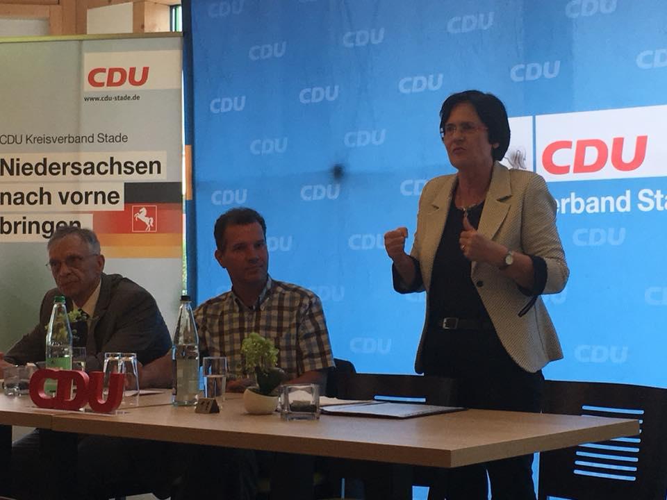 """""""Woche der CDU"""" mit der ehemaligen Ministerpräsidentin Christine Lieberknecht"""